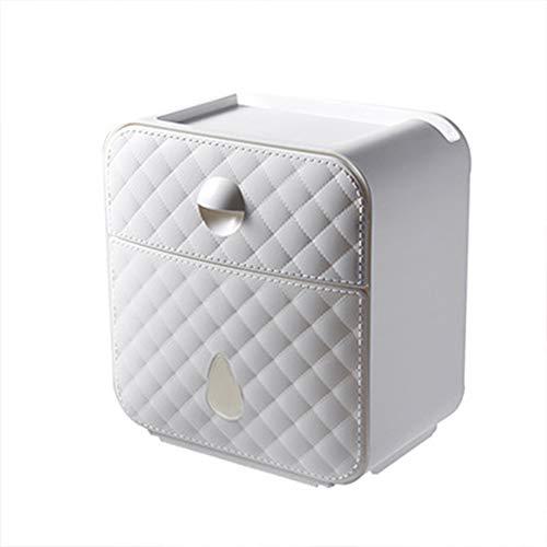 FairOnly Wasserdichter Toilettenpapierhalter mit Schubladenbox weiß
