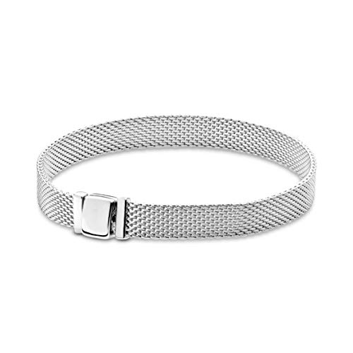 Applicable to Pandoras Women 925 Silver Silver Statement Bracelet - 59771217