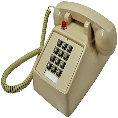 DGHJK Teléfono con Cable, Teléfono Retro Vintage, Timbre mecánico Retro, Teléfono Antiguo...