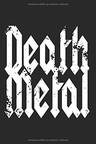 Death Metal: Metal Music Notizbu...