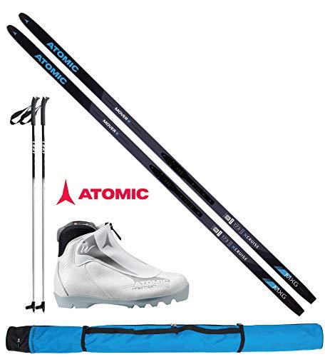 ATOMIC Langlaufski-Set Mover XCruise Women 183cm - Ski + Bindung + Schuhe Women + Stöcke + Skisack 18/19