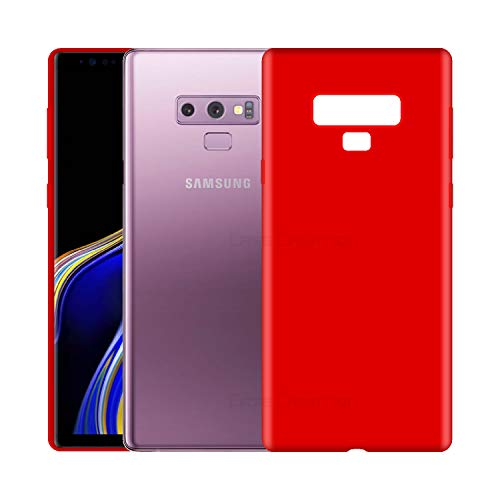 Case Creation Luxurious OG Series for Samsung Note 9 Case Cover,Anti-Dirty Slim Case Frosted Matte Cute Candy TPU Raised Bezel (Splash of Color) Back Cover for Samsung Galaxy Note9 -Wine Red