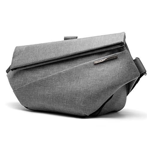 NIID Radiant Urban Sling Bag - Schnell zugängliche, erweiterbare Mehrzweck-Umhängetasche wasserdichte Sling-Umhängetasche für Arbeit und Reisen