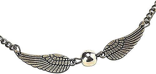 LBBYMX Co.,ltd Collar Retro Minimalismo Collar Perla Alas de Ángel Colombe Pulsera y Pulseras de la Paz para Mujeres Hombres