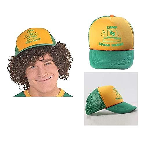 Sombrero Dustin de Béisbol del Personaje, Gorra Hihop