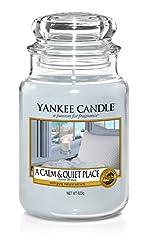 Idea Regalo - Yankee Candle 1577119E, Grey, Candela Grande Vaso