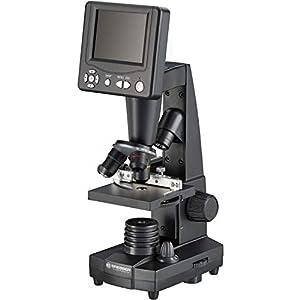 Bresser LCD Microscope 50x-500x (2000x digital), 5 Megapixel, 8.9cm (3.5 inch) LCD display
