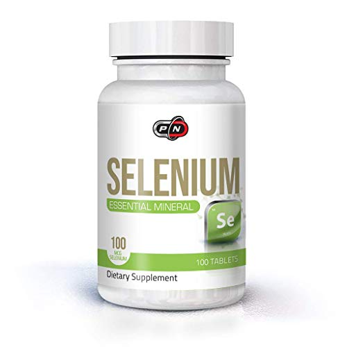 Selenium Tablets 100mcg 100 Vegan Tablets Essential Trace Mineral Support Thyroid Immune System Hair Skin Nails Powerful Antioxidant Energy Production 3+ Months Supply