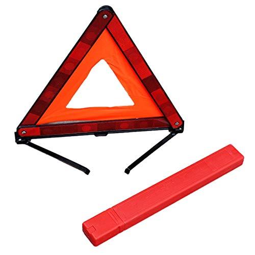 Heaviesk Práctico triángulo del coche Señal de advertencia de emerg