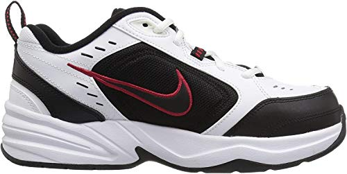 Nike Air Monarch IV, Scarpe da Fitness Uomo, Bianco (White/Black 101), 46 EU