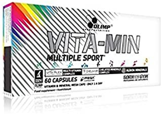 Olimp Sport Nutrition Suplemento Alimenticio Vita-Min Multiple Sport - 60 Cápsulas