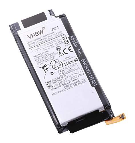 vhbw Li-Polymer Akku 3450mAh (3.8V) passend für Handy Smartphone Telefon Motorola Moto X Force Dual SIM, Force XT1580, Force XT1581, Force XT1585