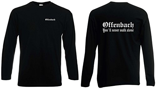 world-of-shirt Herren Longsleeve Shirt Offenbach Ultras S-XXL