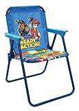 Paw Patrol - Blue Patio Chair for Kids, Portable Folding Lawn Chair