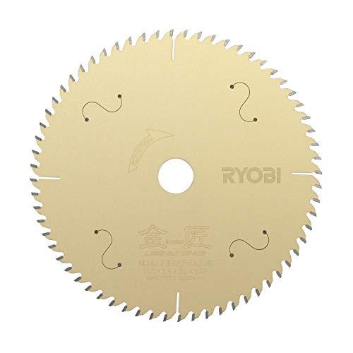 リョービ(RYOBI) 卓上丸ノコ・卓上スライド丸ノコ用 金匠 レーザースリットチップソー 165×64P 4911700