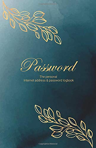 Password Logbook To Protect Usernames and passwords in one secure and convenient place   Key Logbook size 5.5 x 8.5 inch 110 Pages
