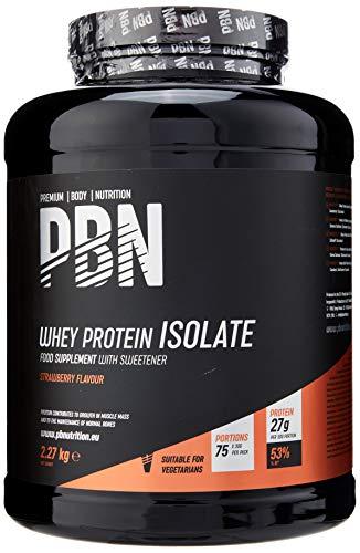 PBN - Premium Body Nutrition Whey-ISOLATE, Proteine isolate del siero di latte in...