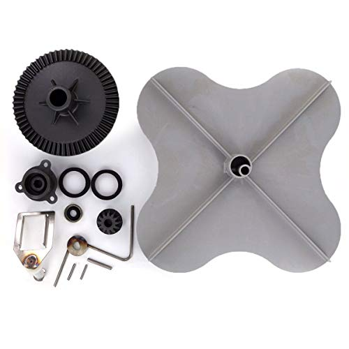 Sale!! Rittenhouse Complete Lesco Spreader Repair Kit with LubriOne PTFE Impeller and 092463 Standar...