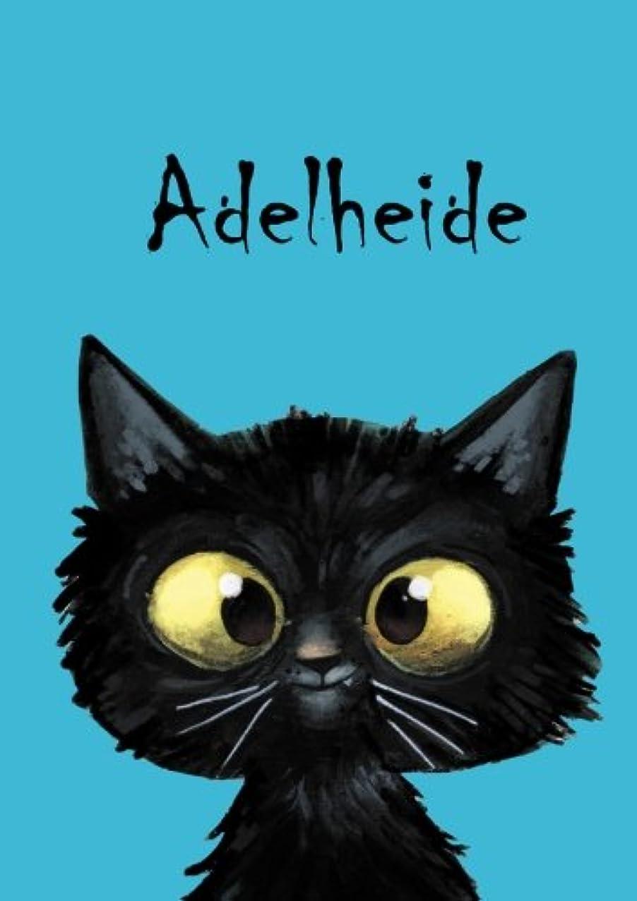 覆すそばに会計Adelheide: Adelheide - Katzen - Malbuch / Notizbuch / Tagebuch: A5 - blanko