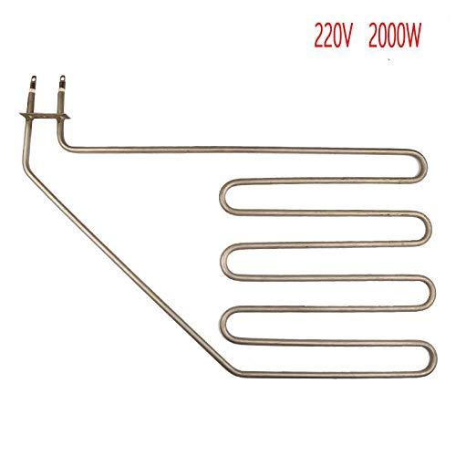 Tool Parts 2000W 220V sauna oblique feet electric heat tube, 4U bevel heater pipe,four U Sauna stove air heating elements
