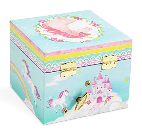 Jewelkeeper Musical Jewelry Box, Unicorn Rainbow Design with Pullout Drawer, The Unicorn Tune 5