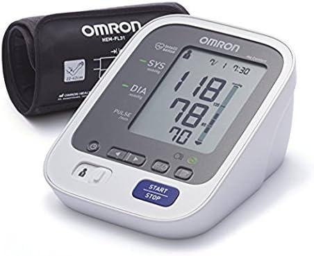 OMRON M6 Comfort Tensiomètre Bras Électronique, Technologie Brassard Intelli Wrap, Mesure fiable dans toutes les posi...