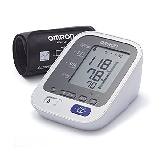 OMRON M6 Comfort Tensiomètre Bras Électronique, Technologie Brassard Intelli Wrap, Mesure fiable...