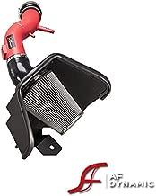 R&L Racing AF Dynamic Red Cold Air Filter Intake Kit 2011-2014 for Ford Mustang V6 ST Base 3.7L 3.7
