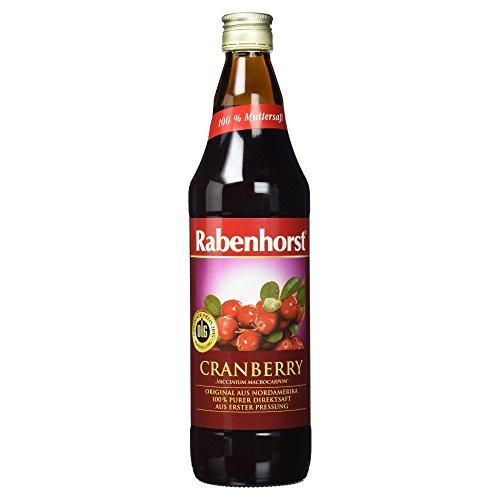 Rabenhorst Bio Cranberry Muttersaft MEHRWEG, 750 ml