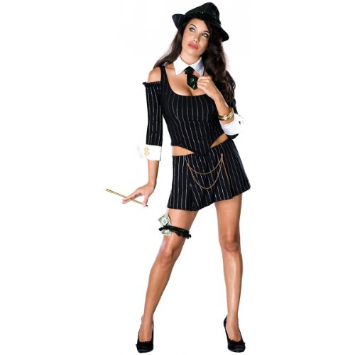Mafia Princess Costume - X-Small - Dress Size 2-6