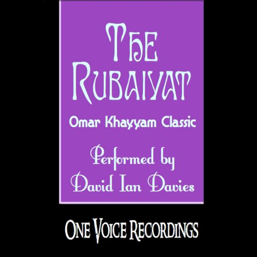 The Rubaiyat audiobook cover art