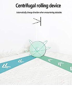 DXIA Jouet pour Chat, Balle Interactive Intelligente de Jouet pour Chat, Boule Auto-Rotative à 360 Degrés avec LED Lumières Rechargeable USB Jouet Interactif Électrique Balle pour Chats et Chiens