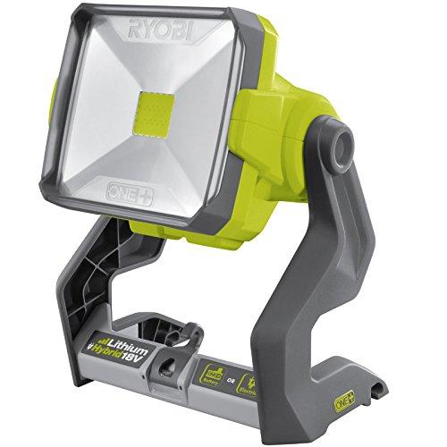 Ryobi Hybrid LED-Leuchte Typ R18ALH-(Arbeitsleuchte, Strahler) - ohne Akku + Ladegerät - 5133002339