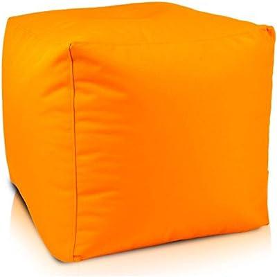 Ecopuf Cube Sitzhocker Hocker Polyestergewebe Outdoor 100