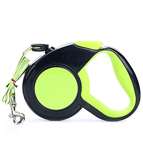 Pingenaneer Einziehbare Hundeleine, 8M Hunde Roll-Leine Automatikleine Reflect Seil Gurt Flexible Hundeleine Hundetraining Leine für Haustier Hunde bis Max. 30kg