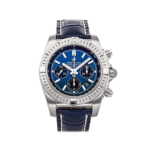 Breitling Chronomat B01 Chronograph 44 Steel - Blackeye Blue Reloj de hombre AB0115101C1P1