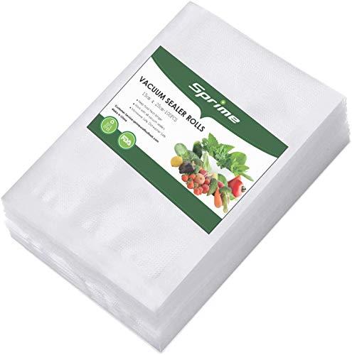 Bolsas para envasar al vacio bolsa envasadora al vacio 100 Bolsas Silvercrest BPA Frei reutilizables resistente a pinchazos bolsas para congelar alimentos Apto para microondas y nevera (15 x 25 cm)