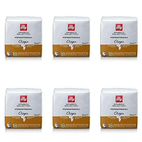 ILLY 18 Capsules of Monoarabic Ethiopia Coffee