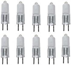 10x halogeen pennenlamp GY6,35 35W 35 Watt mat 12V 12 Volt frosted nieuw