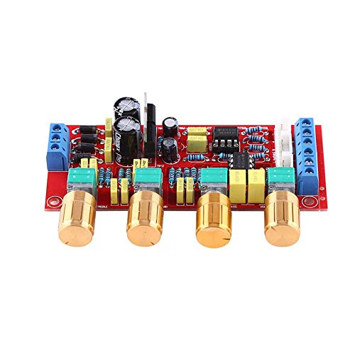 Lautstärkeregler, HIFI-Vorverstärker NE5532 Vorverstärker-Klangplatinen-Kits AC 12 V OP-AMP HIFI-Verstärker-Sortiment für elektronische Komponenten Audio(Bestückte Platine)