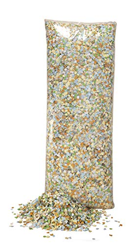 P'TIT CLOWN 31331 Confettis Multicolores Dépoussiérés - Luxe - 1 Kg - Multicolore