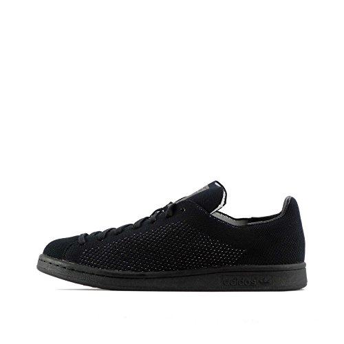 adidas Zapatilla Stan Smith Primeknit, Chaussures de Fitness Femme, Noir (Black/Black 000), 37 1/3 EU
