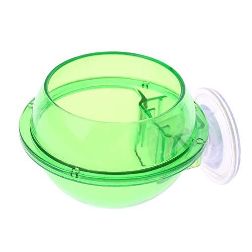 EPMEA0 1pc ecológico plástico Reptil Fuente alimentaria Anti-Escape de la Tortuga Lagarto...
