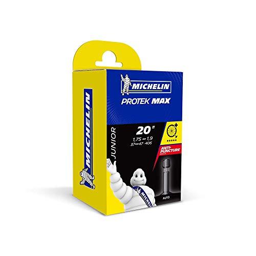 "Michelin PROTEK MAX BTT, Camara de aire para bicicleta, 20""x1.75-1.9 Standard"