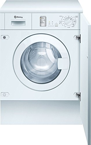 Balay 3TI773BC Integrado Carga frontal 7kg 1000RPM A++ Blanco - Lavadora (Integrado, Carga frontal, Blanco, Botones, Giratorio, Izquierda, Blanco)