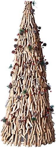 Christmas Tree Mini Artificial Christmas Tree with Led Lights Handcrafted Christbaum, Handmade for Home Decor Christmas utenciles (Color : C, Size : 90cm/3ft)