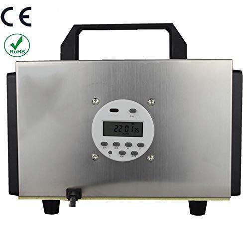 Generador de Ozono con Función de Temporización,de ozono yorten Generador 10,000 MG/Hora, ionizador casero para habitación, Humo, automóviles y Mascotas