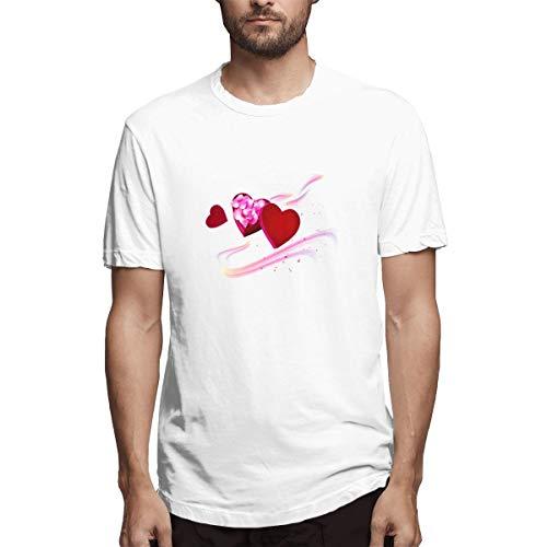 zhkx Camisa Madre Amor Fondo de Pantalla del teléfono móvil Regalo Aaab Camiseta Casual de algodón para Hombre