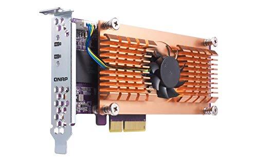 Qnap Dual M.2 QM2-2P-384 Pcie Ssd Expansion Card - QM2-2P-384