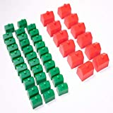 Monopoly Replacement Pieces: Houses & Hotels:...